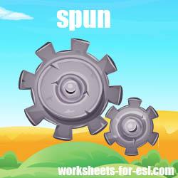 How to Pronounce Spun