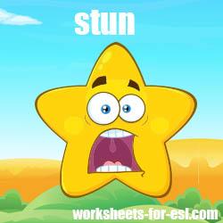 How to Pronounce Stun