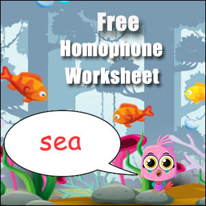 homophone example sea