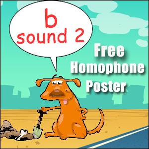 homophone examples b 2