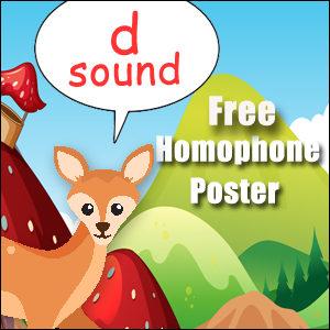 homophone examples d