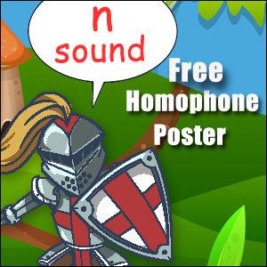 homophone examples n
