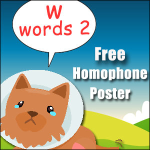 homophone examples w 2