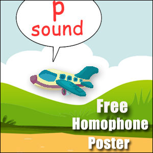 homophones examples p