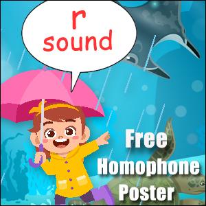 homophones examples r